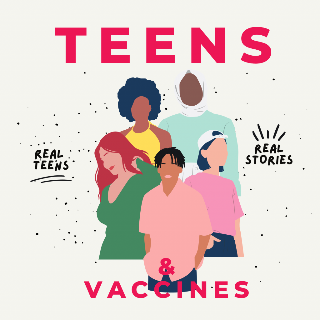 Teens Vaccines Podcast Cover